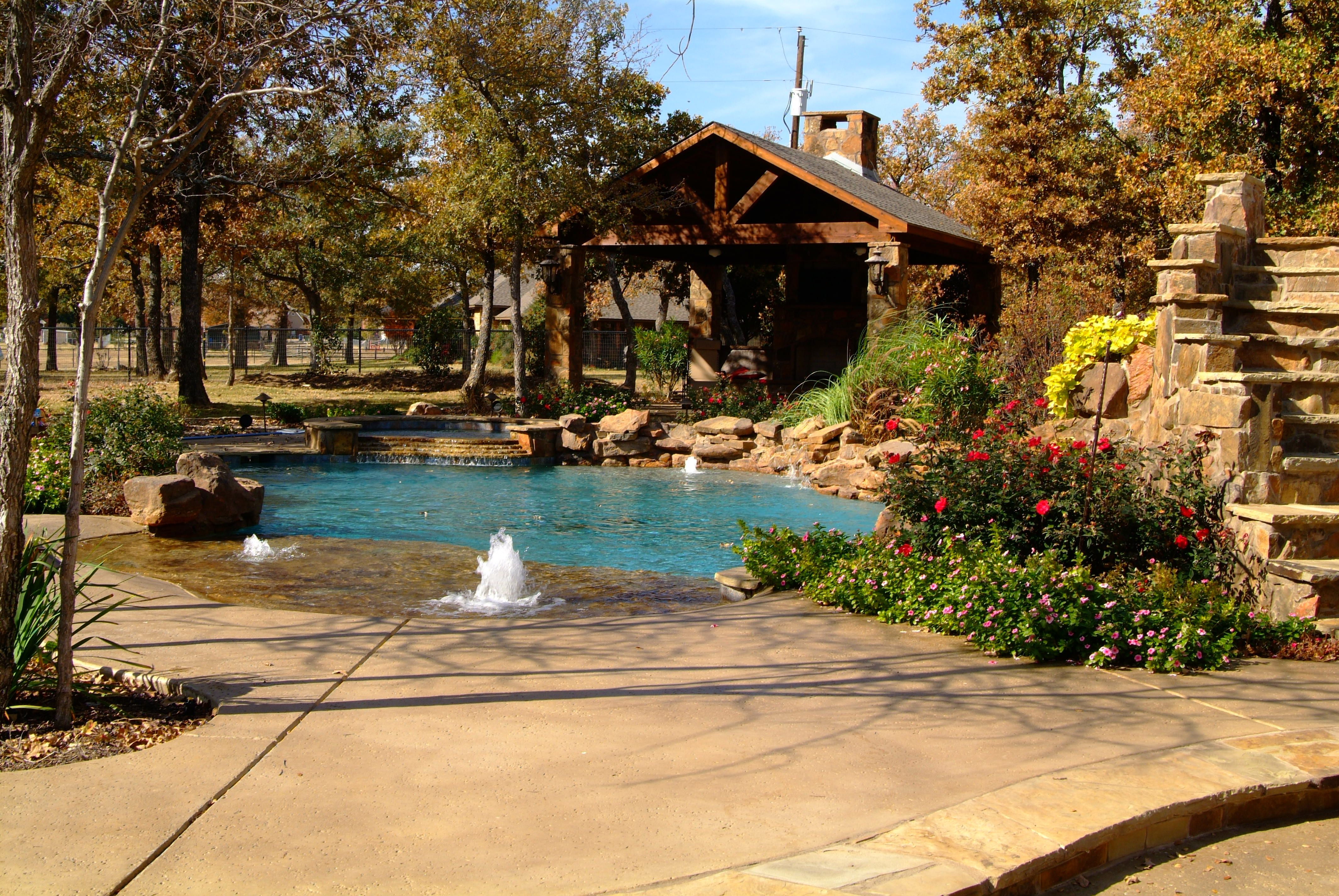 Outdoor Pool Patios DFW