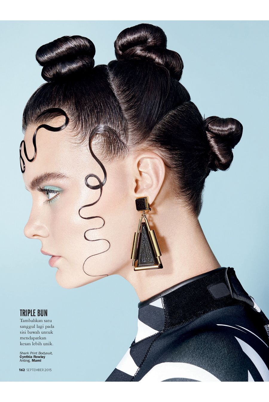 Marie Claire IND - Twist & Curl on Behance