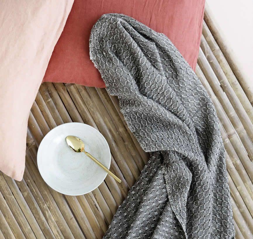 broste plaids diamond in herfsttinten katoen pinterest copenhagen and plaid. Black Bedroom Furniture Sets. Home Design Ideas