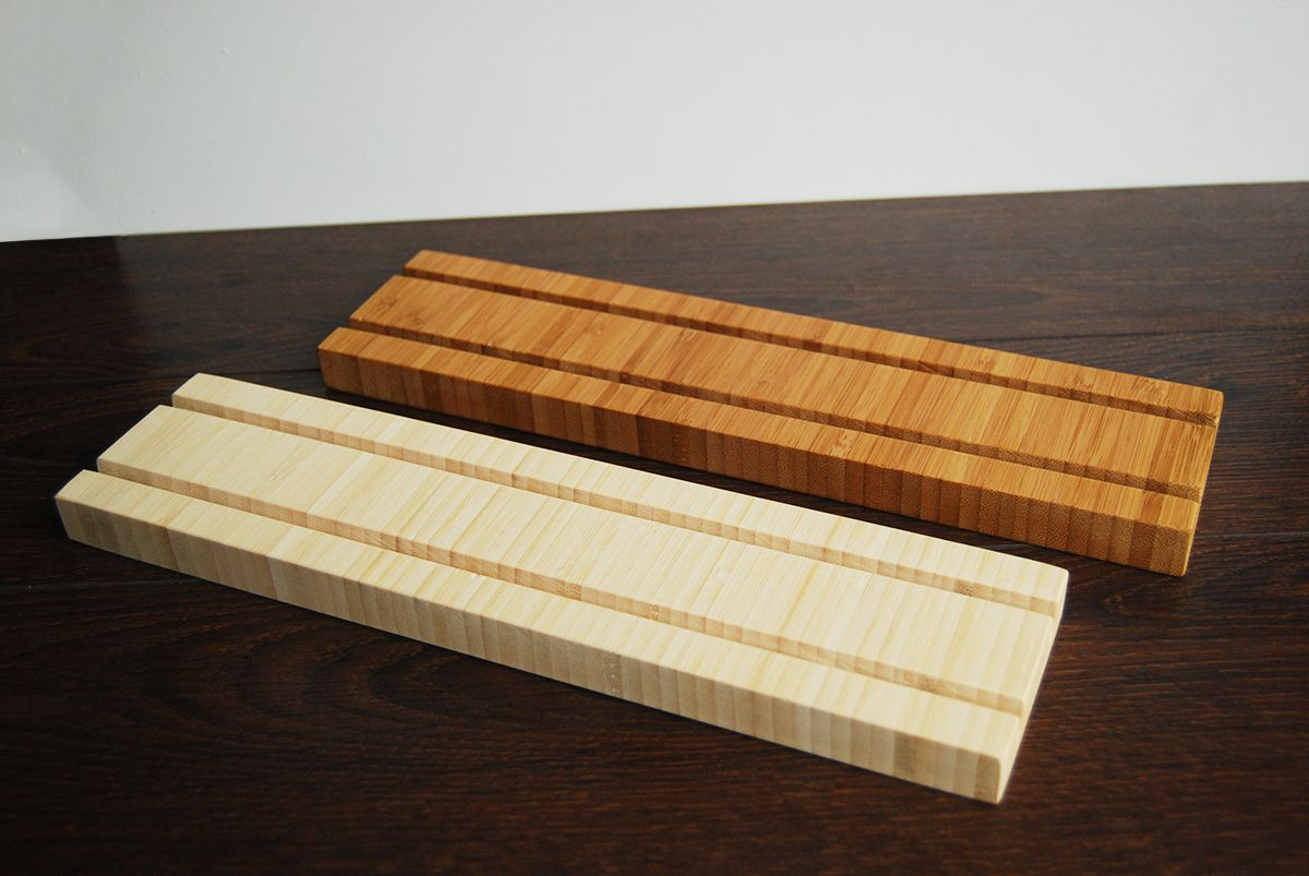 Multiple Bamboo Business Card Holder by MagoWood.com | Business Card ...