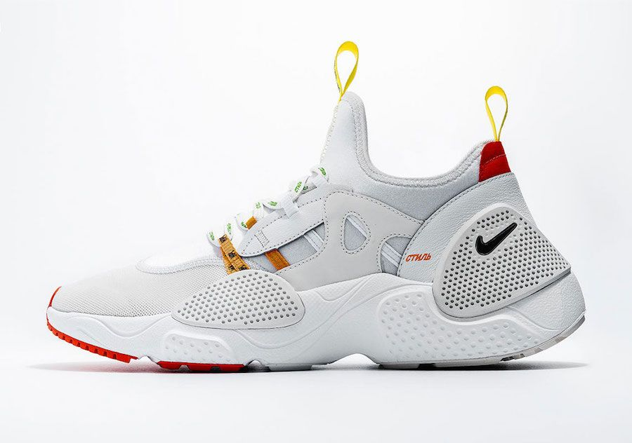 low priced 5ec79 83396 Heron Preston Nike Huarache EDGE Release Date