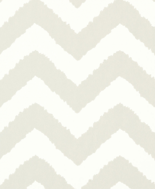 Widenor Chevron Wallpaper A Bold Featuring Large Jagged Chevrons Printed In Grey On White