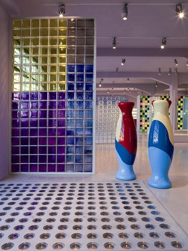 Arte y creatividad con ladrillo de vidrio vitroblock ideas de decoraci n con pav s pinterest - Decoracion con paves ...