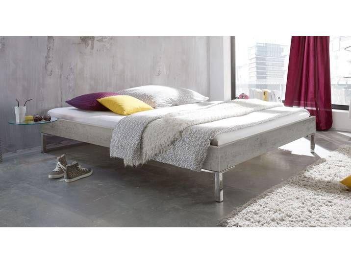 Modern designer bed without headboard silver 120x190 cm - Anera - BED -  Modern designer bed without headboard silver 120×190 cm – Anera – BETTEN.de  - #120x190 #anera #Bed #beddesignmodernluxury #bedgirl #designer #headboard #kingbeddiy #modern #silver #without #indischesschlafzimmer