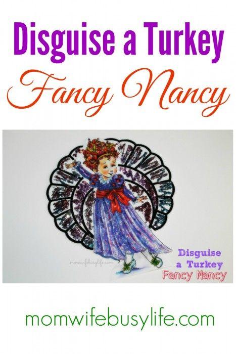 Disguise a Turkey - Fancy Nancy - Mom. Wife. Busy Life. -   14 mermaid turkey disguise project ideas