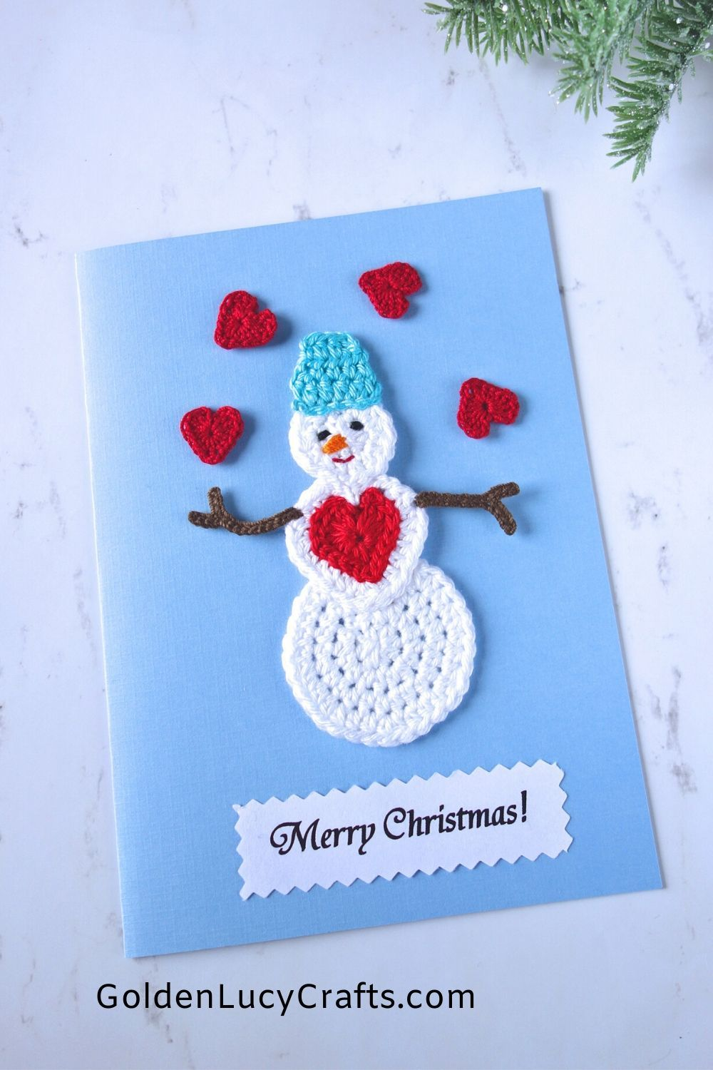 15 Diy Christmas Cards Embellished With Crochet Appliques Diy Christmas Cards Christmas Cards Handmade Homemade Christmas Cards