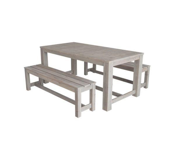 Hesperide Ensemble Repas Topeng Table 2 Bancs | Idées de ...