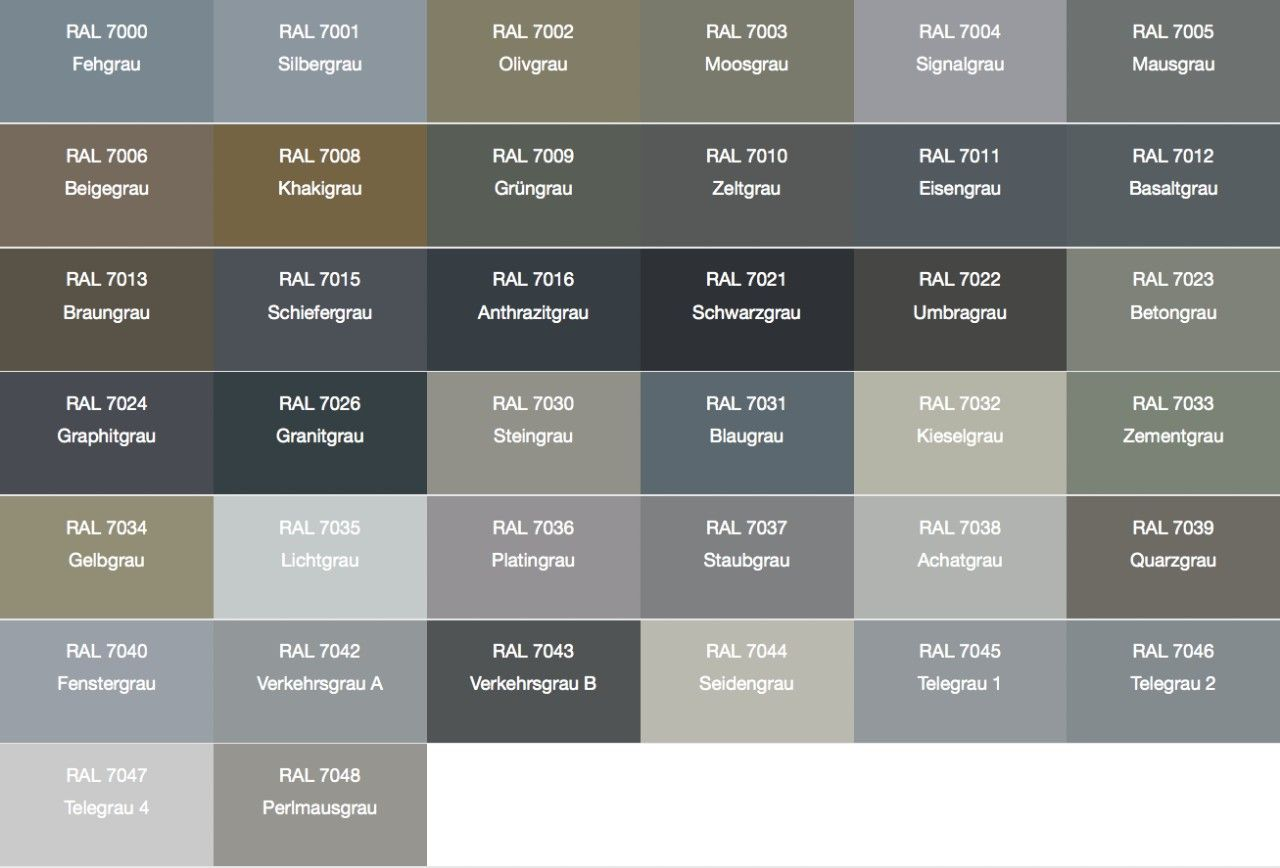 Ral   Google Search  Color Charts    Rustic