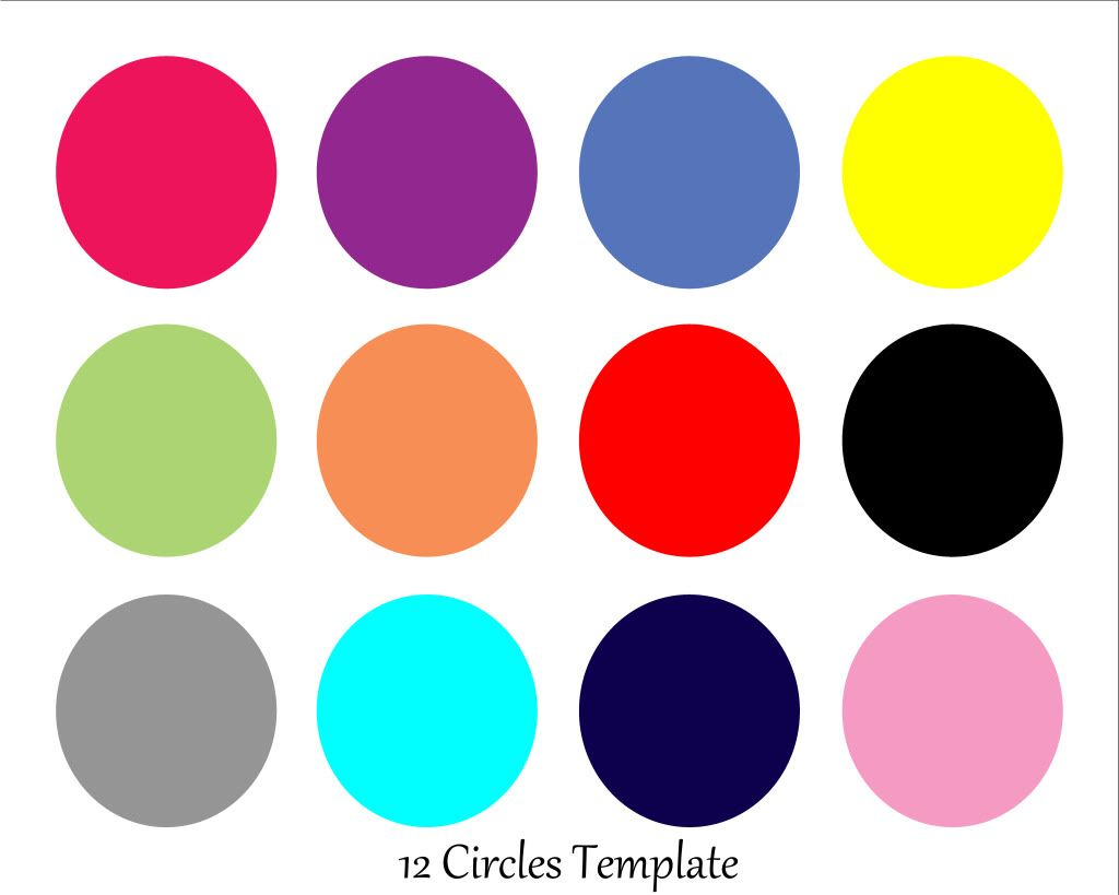 Free  Circle Storyboard Template With Clipping Masks Photoshop