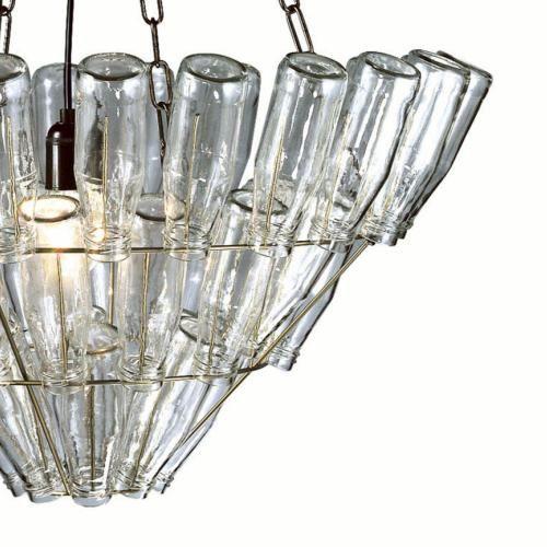 Leitmotiv bottle chandelier large bottle chandelier chandeliers leitmotiv bottle chandelier large op lamp expert frank mozeypictures Images