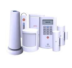 Invest in a home alarm system.