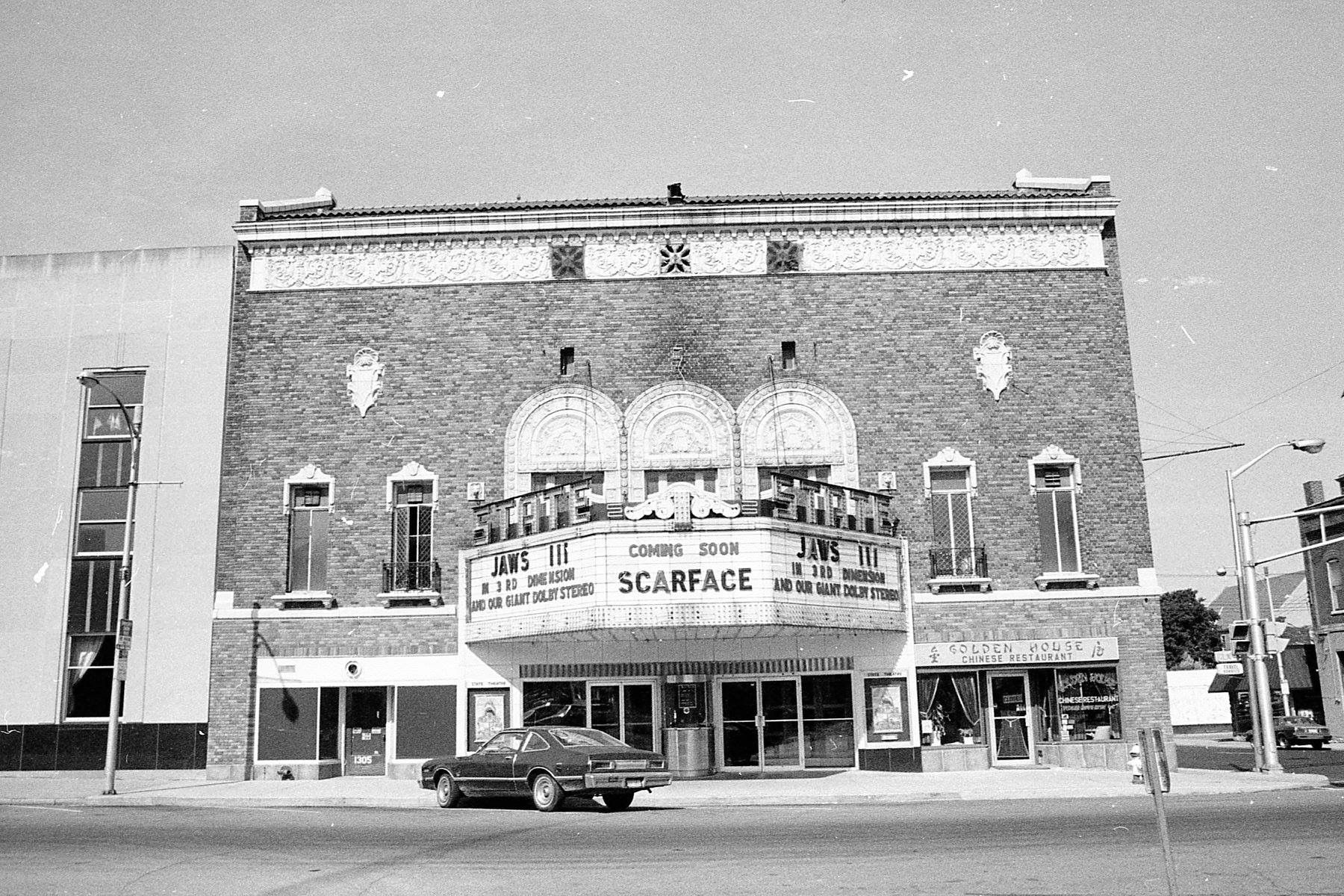 The Golden House Chinese Restaurant And Of Course The State Theater 1983 Anderson Indiana Anderson Indiana State Theatre Indiana