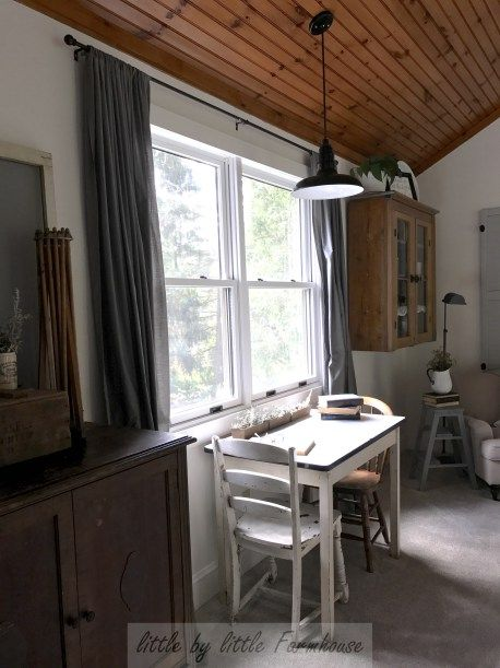 Farmhouse Light Fixture {Steel Lighting Company} - Little by Little Farmhouse
