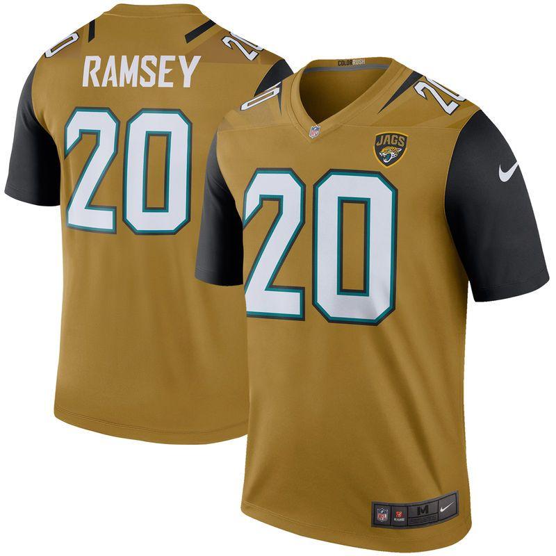 new product 1fa29 15236 Jalen Ramsey Jacksonville Jaguars Nike Color Rush Legend ...