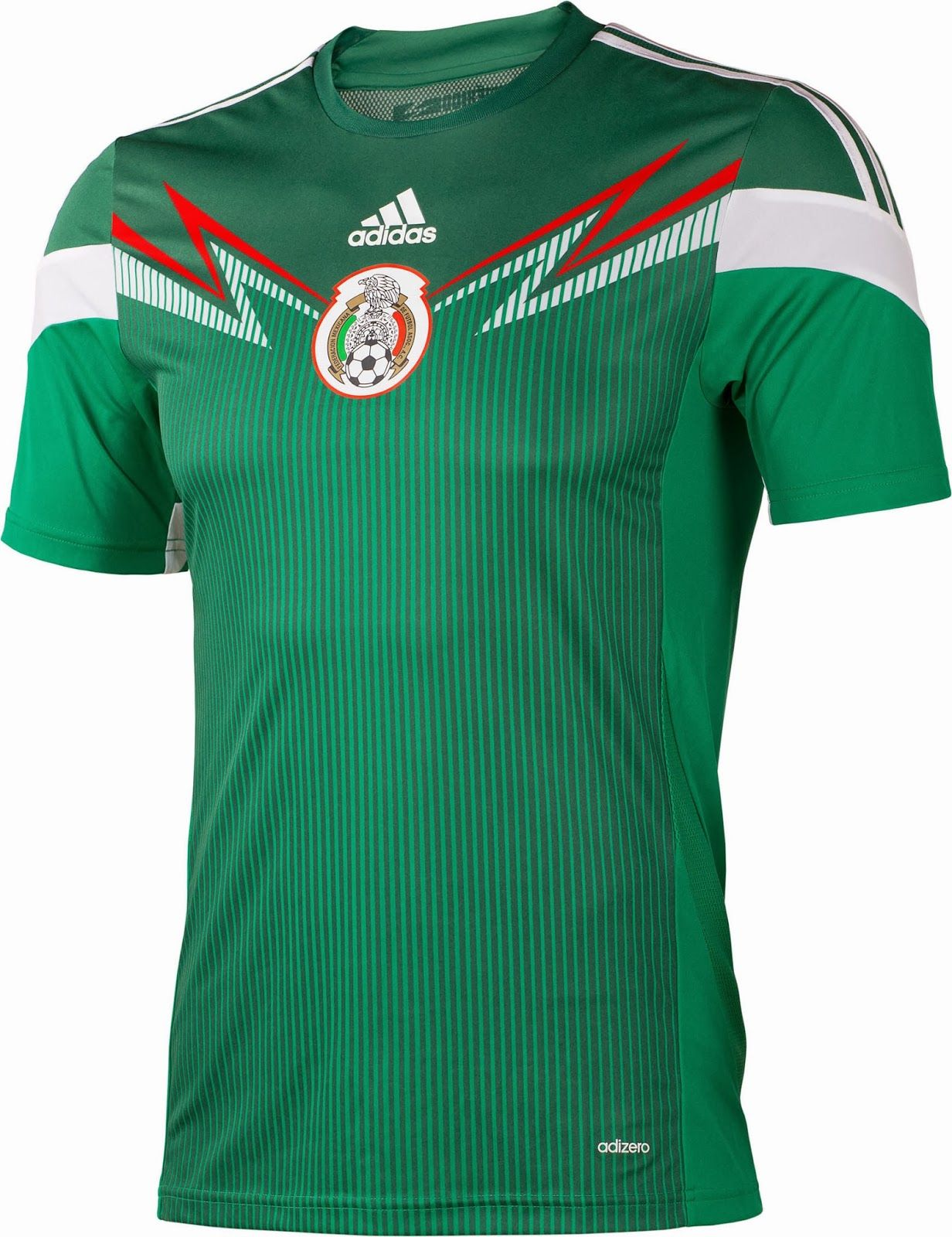 5c648d11525 Mexico 2014 World Cup Kits released. The new Mexico 2014 World Cup Kits are  made by adidas. Mexico 2014 World Cup Home Kit is green   white
