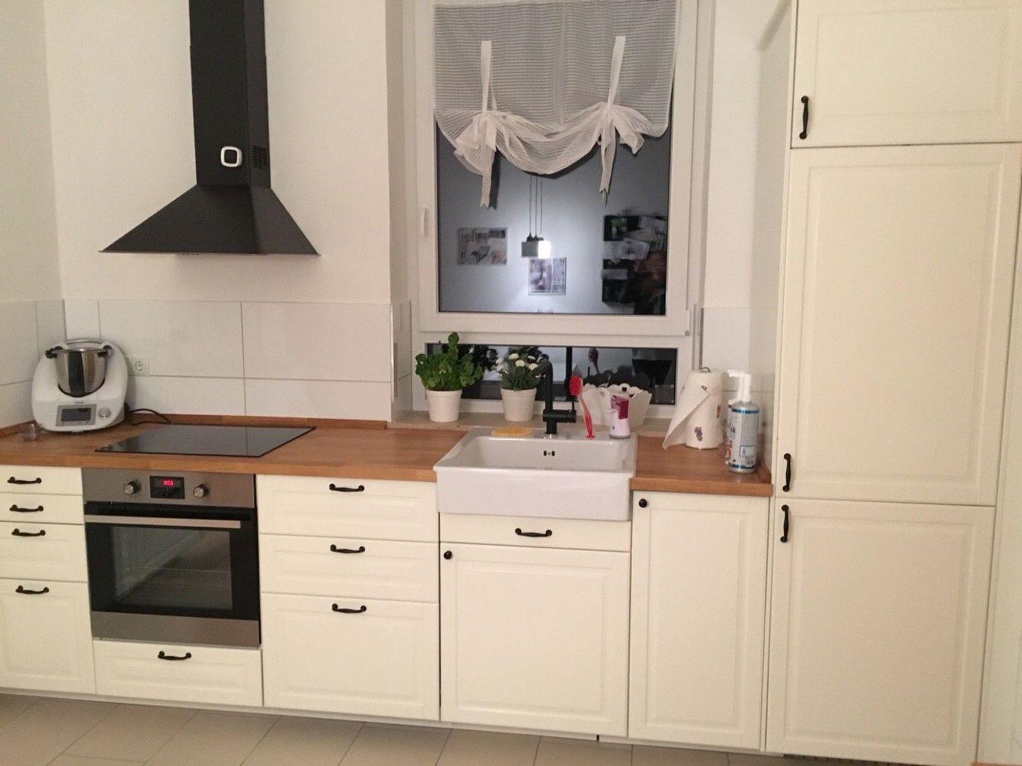 Ist Ikea Kochkunst Bodbyn Dieser Trend Im Moment Ikea Kuche Kuche Landhausstil Weiss Und Haus Kuchen