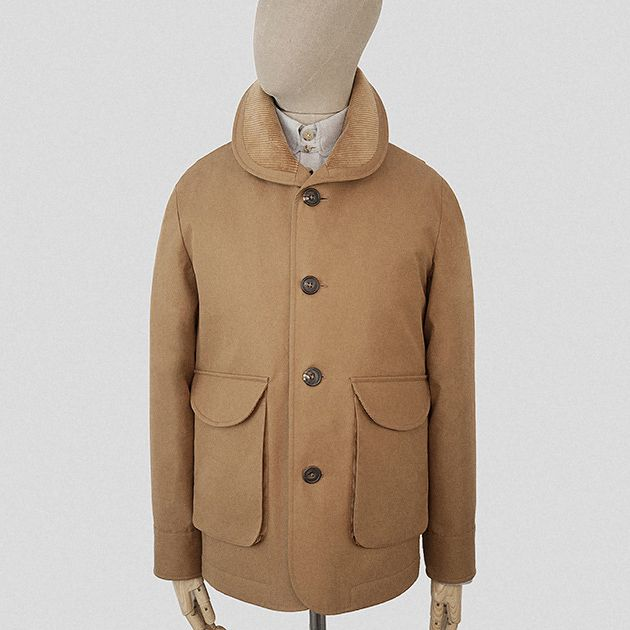 Cinnamon Ventile tour jacket    Garments made with the makers of the British Isles