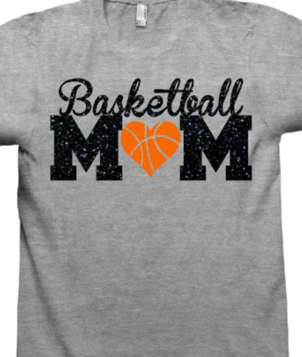 efaffb33 Basketball MoM Shirt, Basketball Shirt, Mascot Shirt, Basketball Net ...
