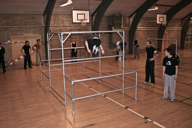 Gym Portable Parkour Structure