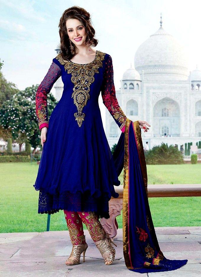 Indian Anarkali Dresses | Indian Anarkali Fashion In Pakistan 2013 ...