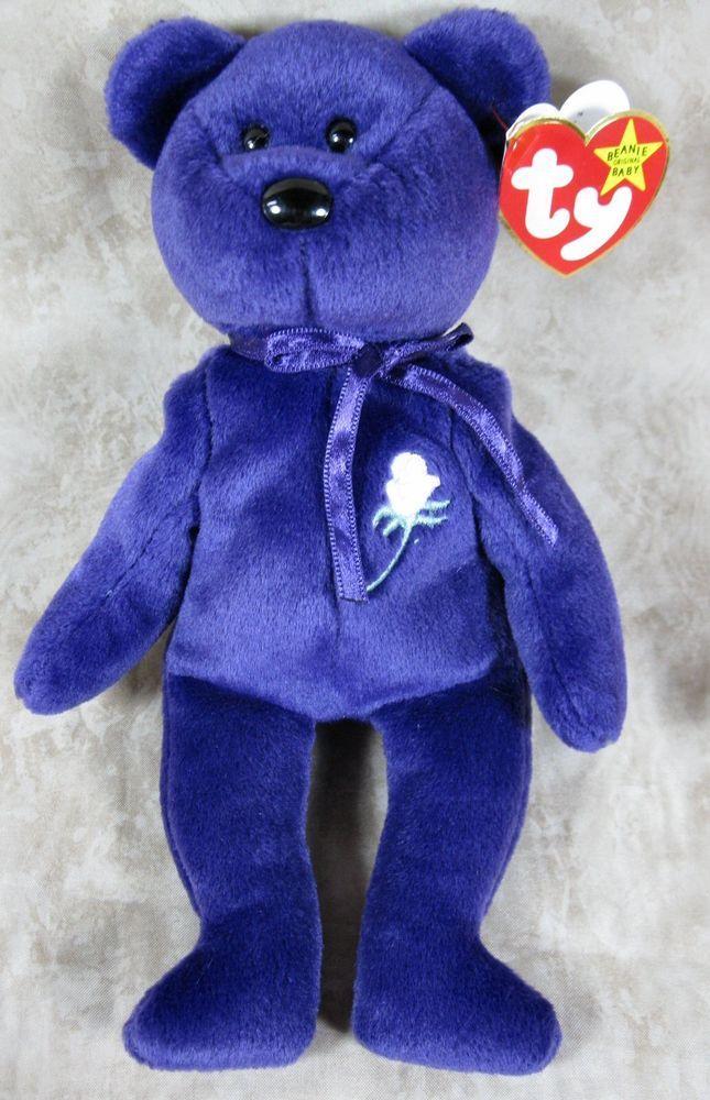 Ty Beanie Baby Princess P E China No Tag Number Red Star Rare
