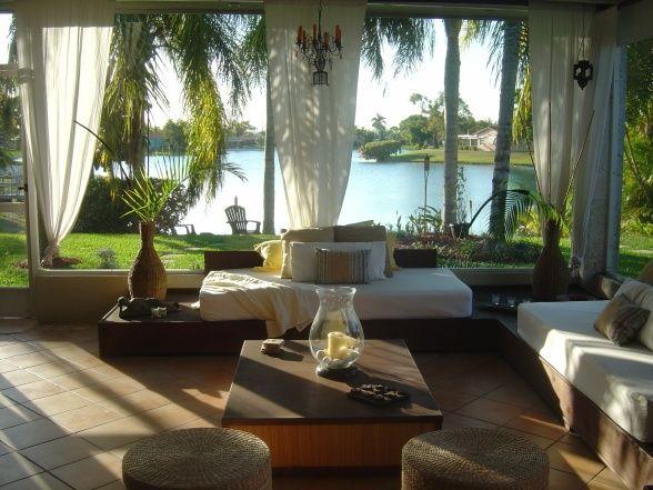 Florida Room Designs What a sunroom Dream homes Pinterest