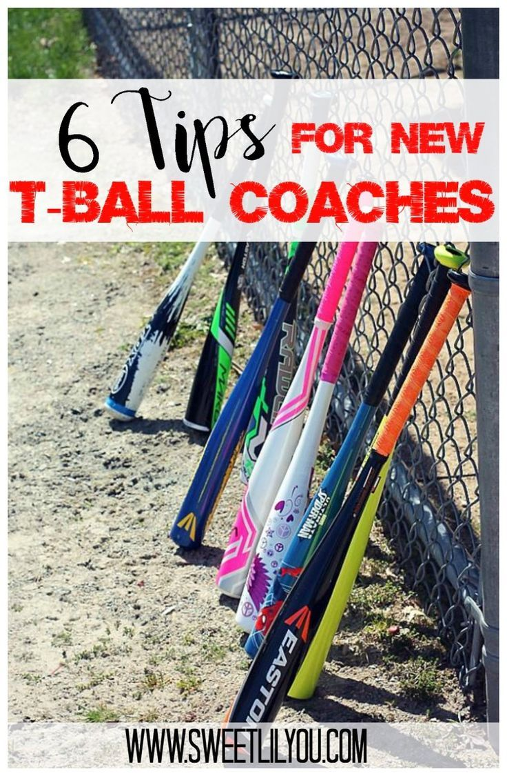 6 Tips for TBall Coaches sweet lil you in 2020 Tball