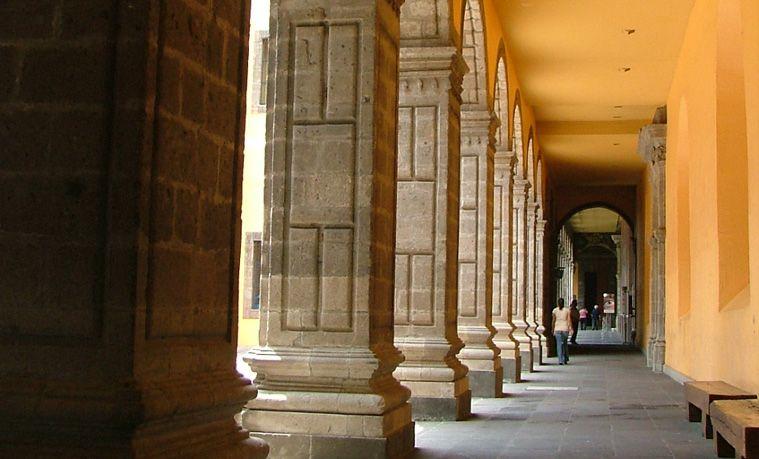 Antiguo Colegio de San Ildefonso aqui vivio Sor Juana Inés de la Cruz #museos #museums #culture