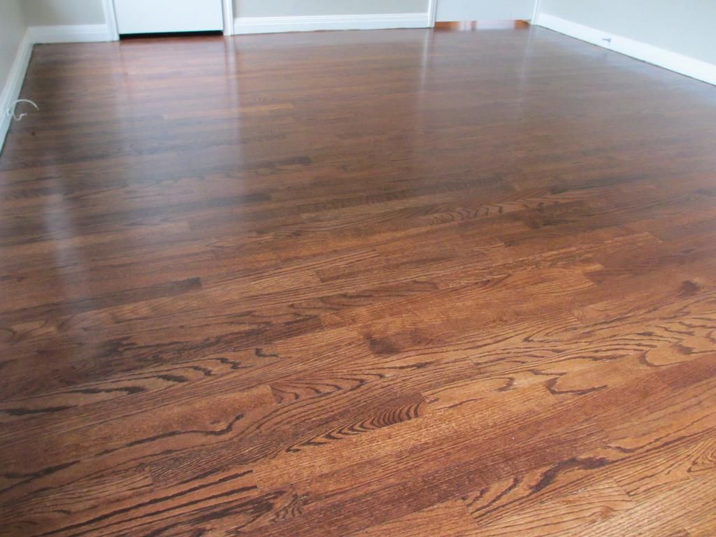 Recently Refinished 1 Common Red Oak Hardwood Floors Provided By TAYLOR FLOO