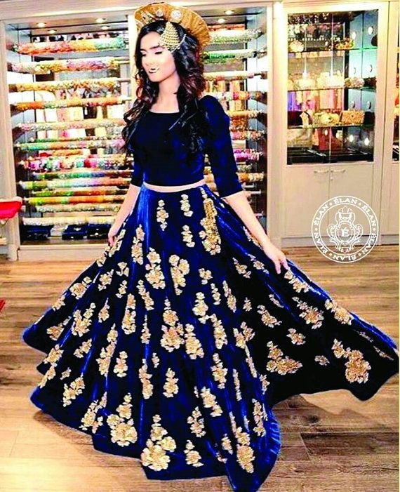 81143571df Sania Maskatiya inspired Floral Embroidery Embellished Chiffon Shirt ...