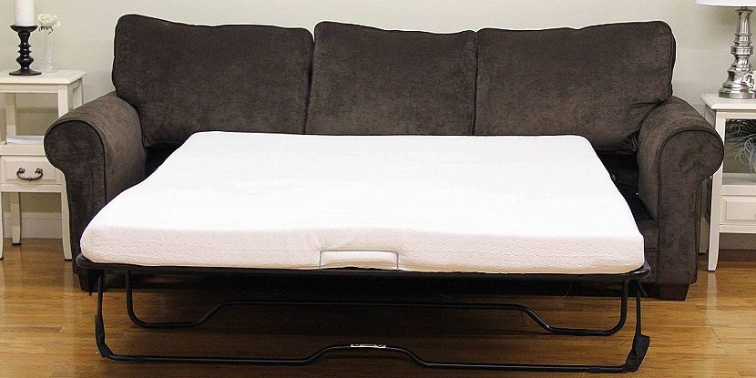 Sleeper Sofa Memory Foam Mattress Topper