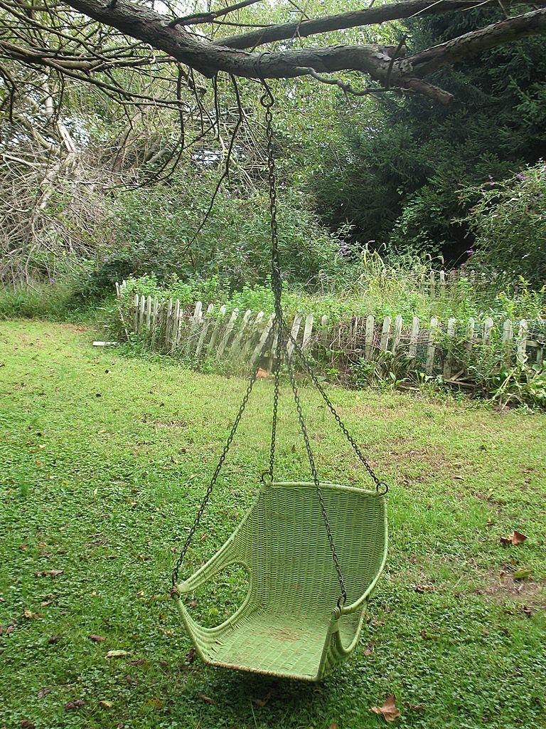 MidCentury Tree Swing. Swinging chair, Mid century