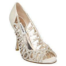 A buon mercatoDune Diamante Scarpe Da Sposa sulla vendita