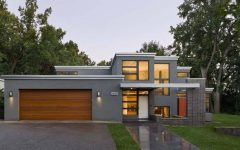Modern Canada House Design With Duplex House Plans Videos And Modern Patio Roof Also Contemporary Home Front P Flat Roof House House Designs Exterior Flat Roof