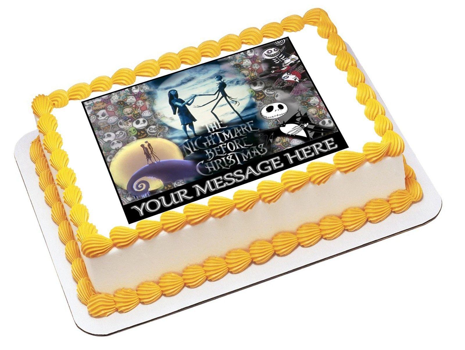A275 Edible Image Birthday Deco 14 Sheet Cake Topper