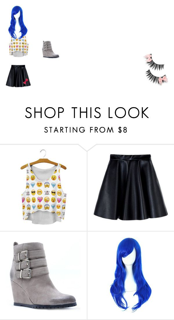 """""""Untitled #40"""" by chester-river ❤ liked on Polyvore featuring MSGM and Qupid"""