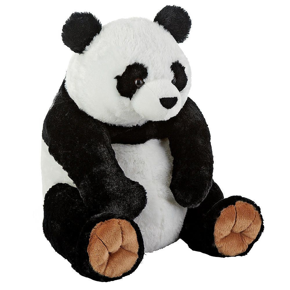 animal alley  inch panda  black and white  stuffed teddy bears  - animal alley  inch panda  black and white
