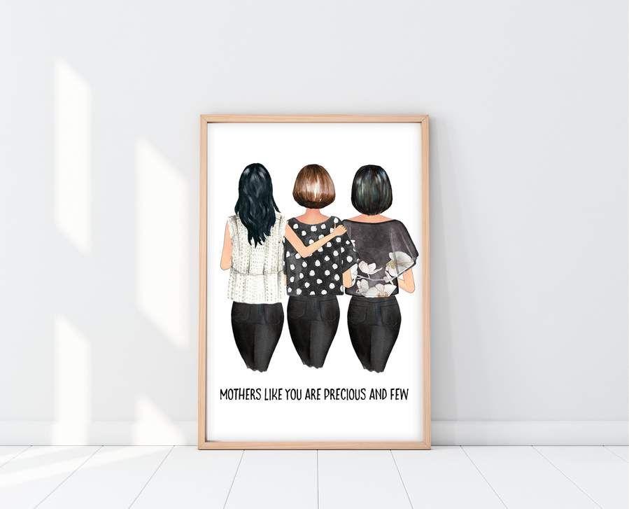 Birthday gift for mom custom mom print in 2020 mom