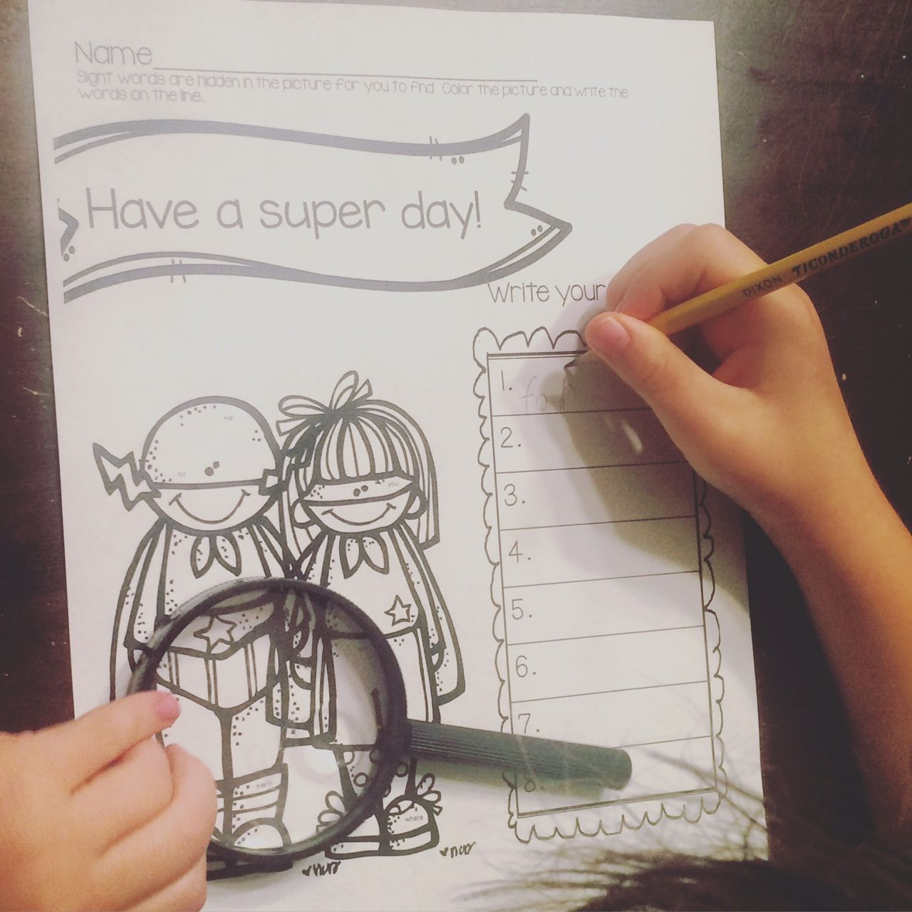 FREE Super Hero Day Search and Find! | FREEBIES | Pinterest | Kind