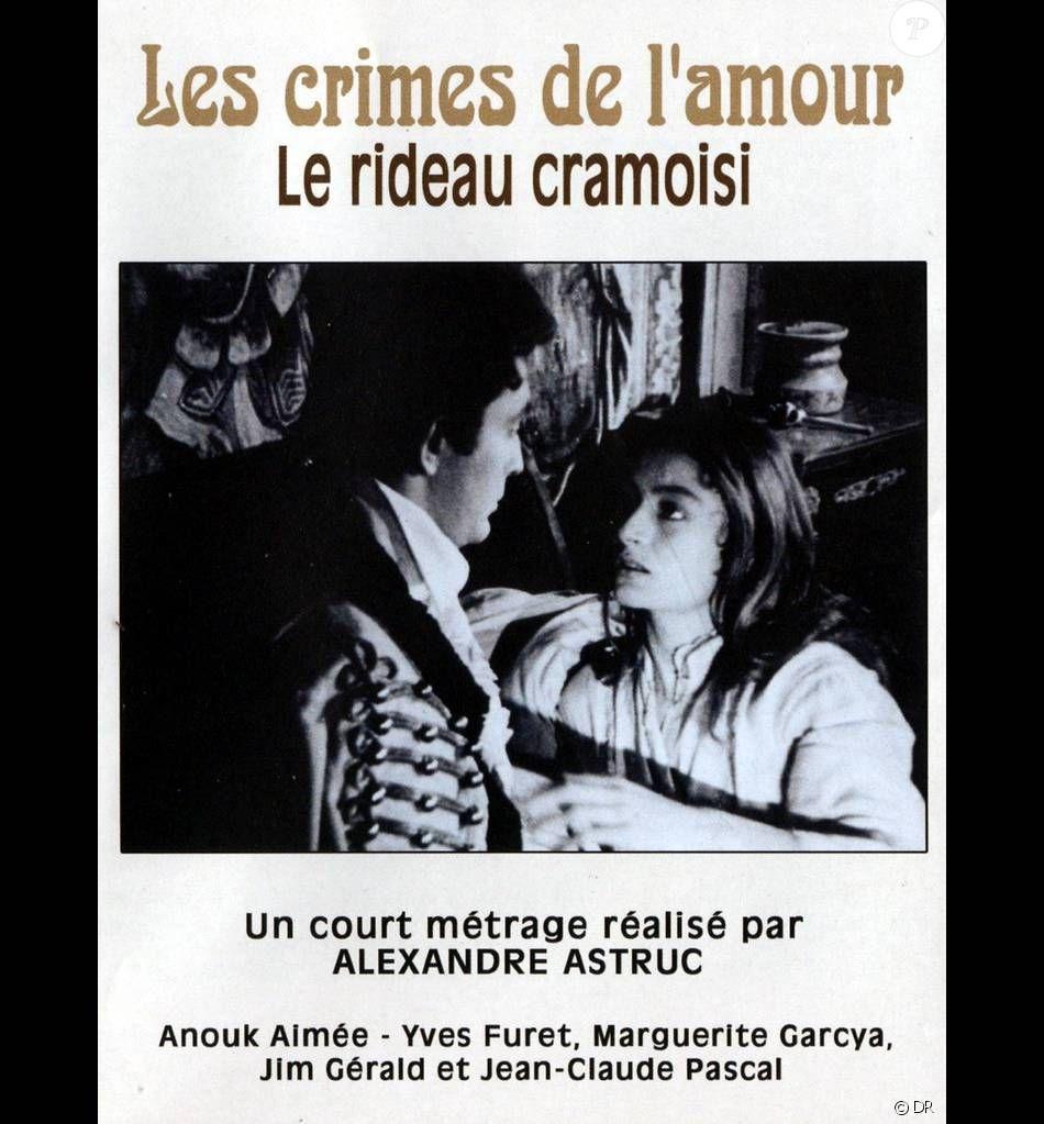Rideau Cramoisi Astruc Jean Claude Pascal Court Metrage Crime