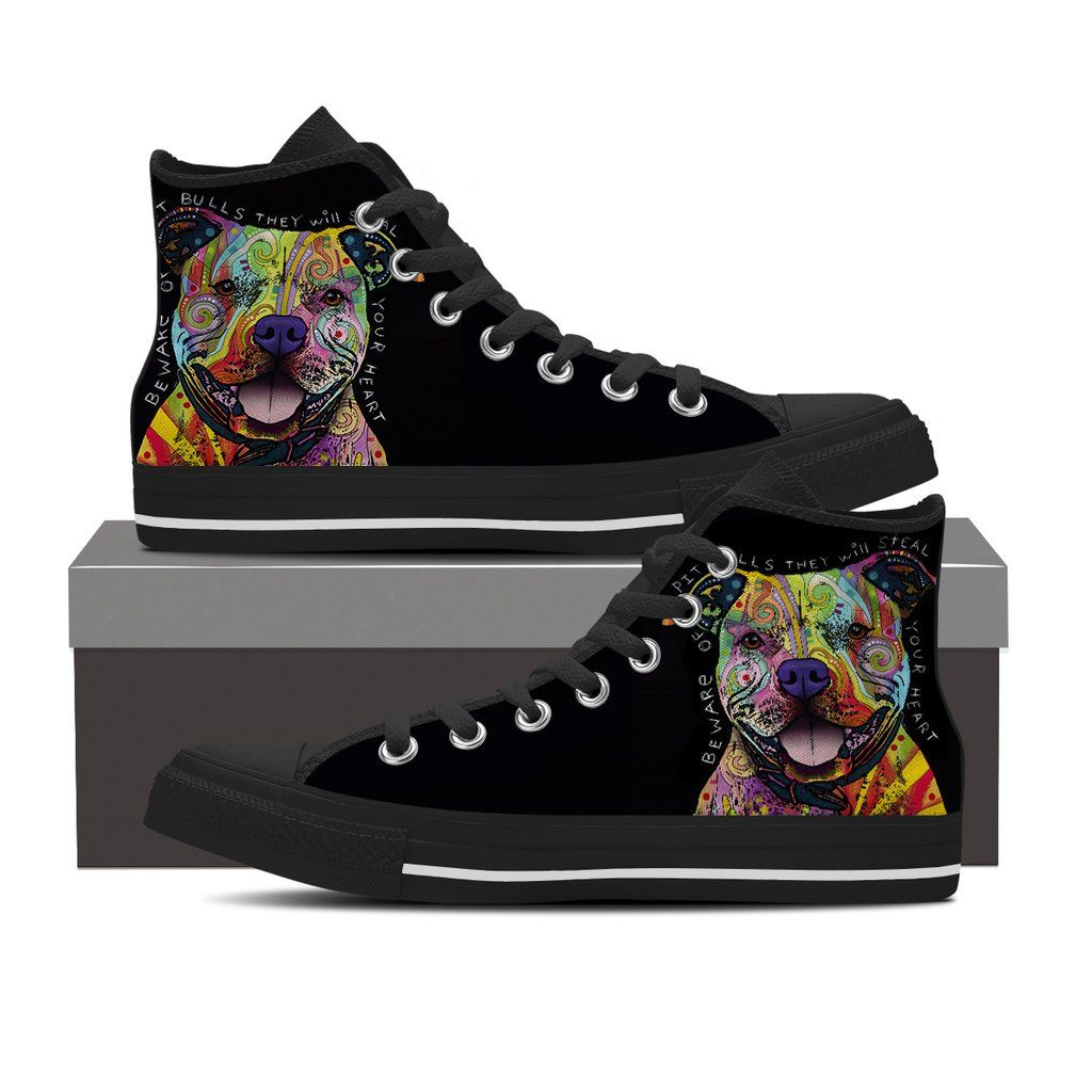 532d19a3f29 $139.99 - $69.99 Pit Bull High Top Shoes Do you love Pit Bulls? Then these