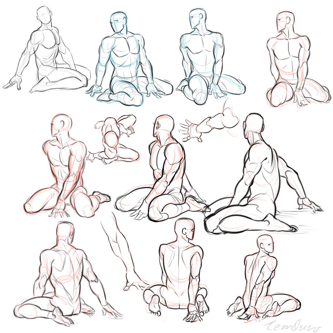 Practice Anatomy Pinterest Pose Drawings And Anatomy