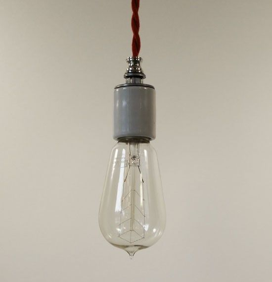 Red Cord Pendant Light Kit From The Joy Of Lighting Remodelista