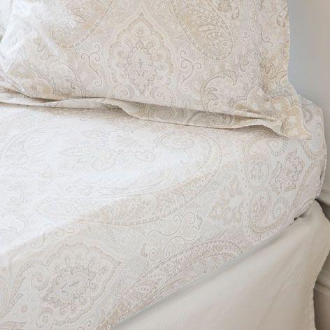 drap de dessous coton paisley linge de lit lit zara home france casa di bri pinterest. Black Bedroom Furniture Sets. Home Design Ideas