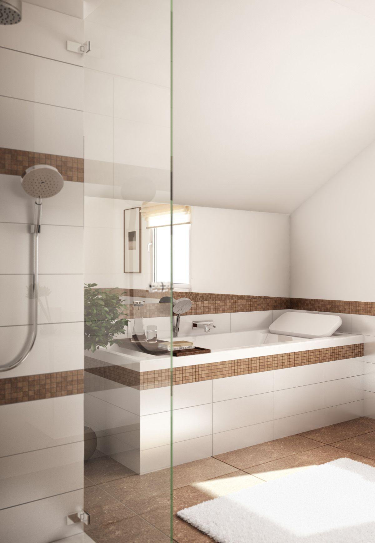 Ein Bad Zum Wohlfuhlen Mosaik Und Farbgebung Erzeugen Mediterrane Stimmung Bienzenker Badezimmer Bad Verwohnenu Badezimmerideen Badezimmer Badgestaltung