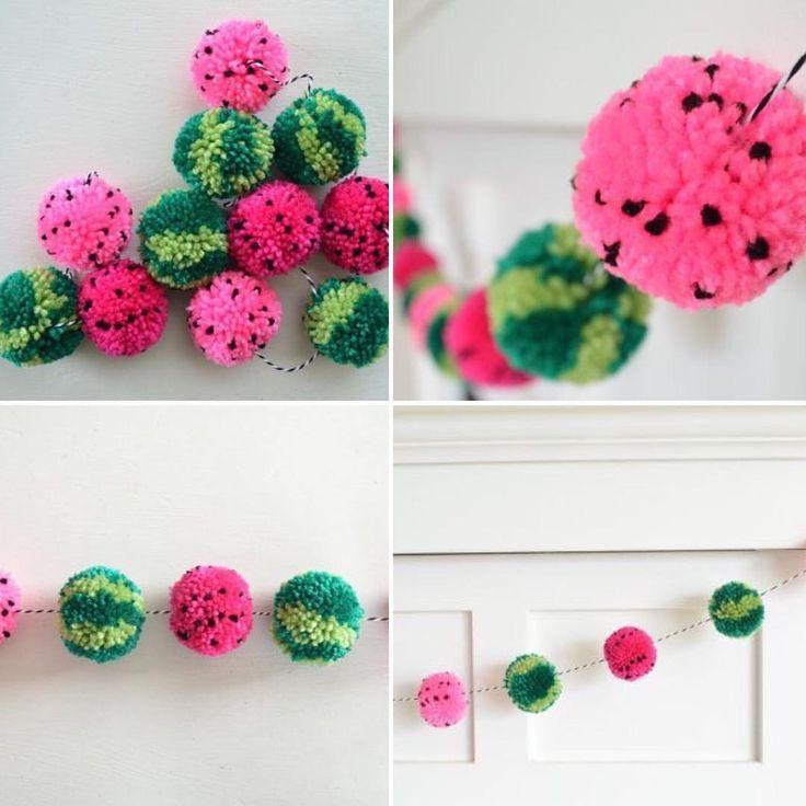 Diy Wandbehang Dekoration Tassel Pompoms Wolle Basteln Wanddeko Basteln Mit Kindern Quaste Quasten Selb Pom Pom Crafts Pom Pom Garland Crafts
