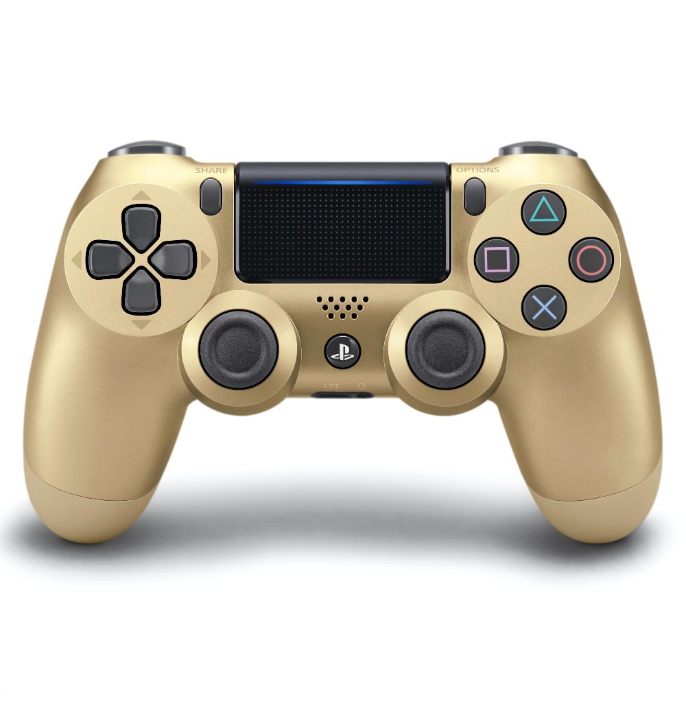 Sony Playstation 4 Dualshock 4 Controller Gold Walmart Com In 2020 Dualshock Playstation Controller Sony Playstation