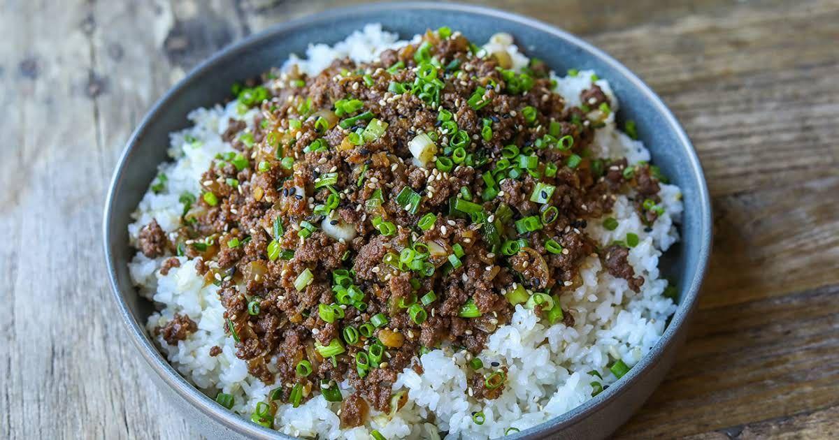 Ground Beef Bulgogi | Recipe in 2020 | Bulgogi beef ...