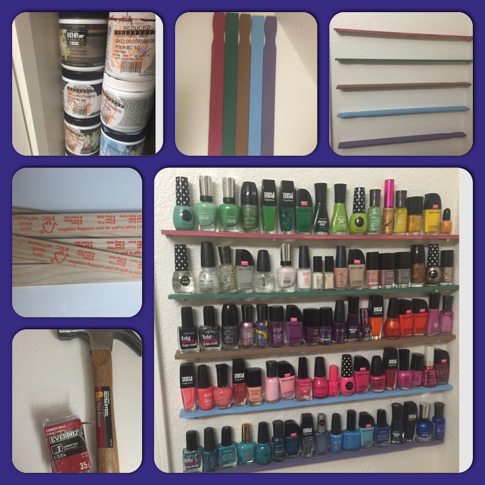 cheap nail polish rack instructions i used long 5 on home depot paint sale id=73228