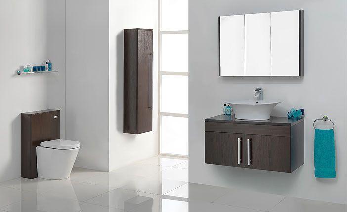 Victoriaplumb Odessa Wenge Bathroom Furniture